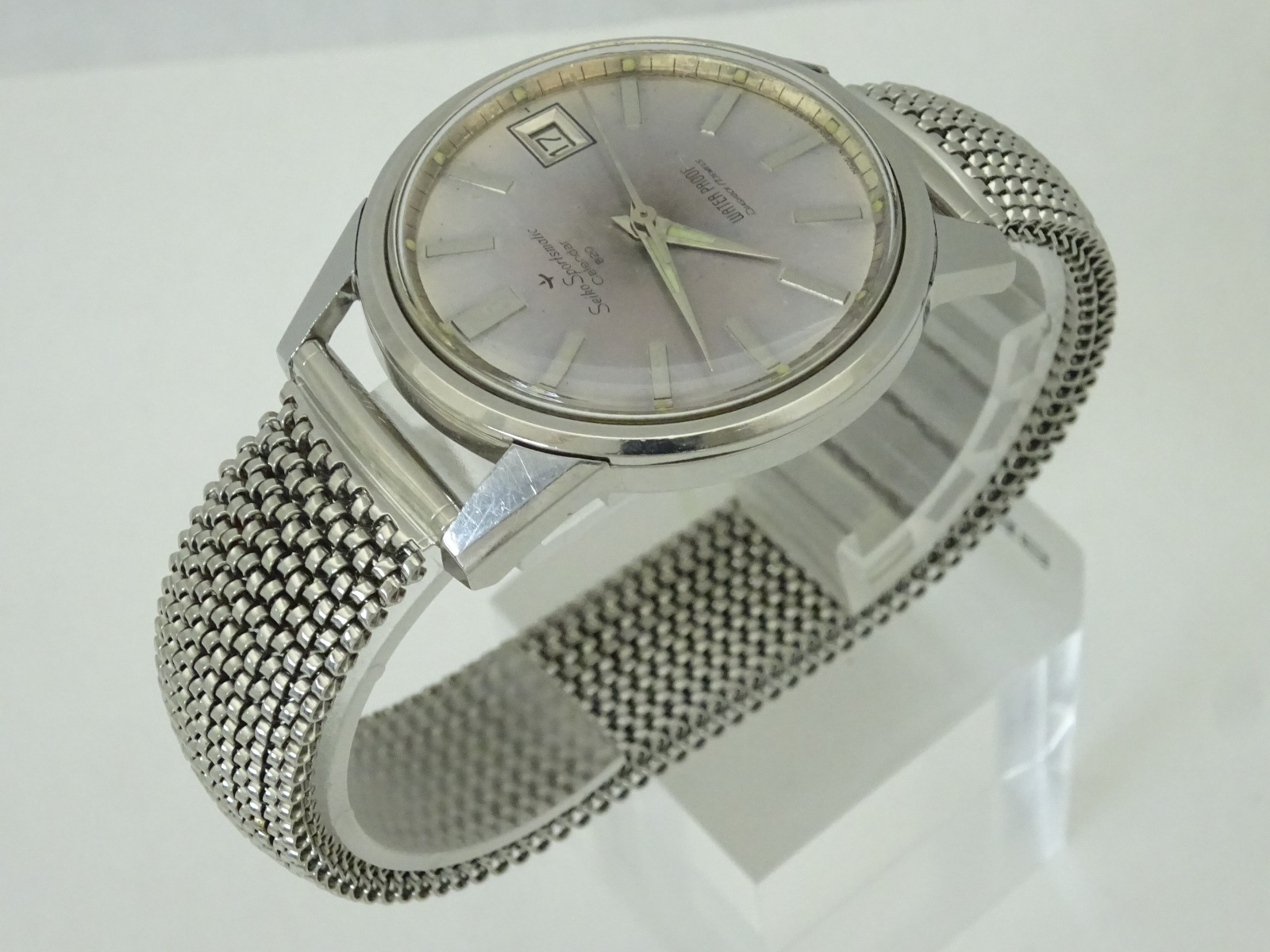 Vintage 1964's JAPAN SEIKO SPORTSMATIC CALENDAR 820 82897 17Jewels Automatic.