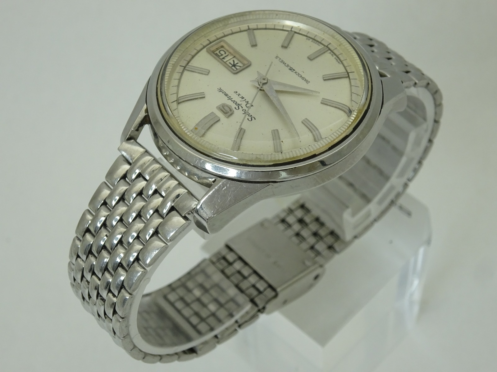 Vintage 1965 JAPAN SEIKO SPORTSMATIC5 DX  7619-7010 25Jewels Automatic.