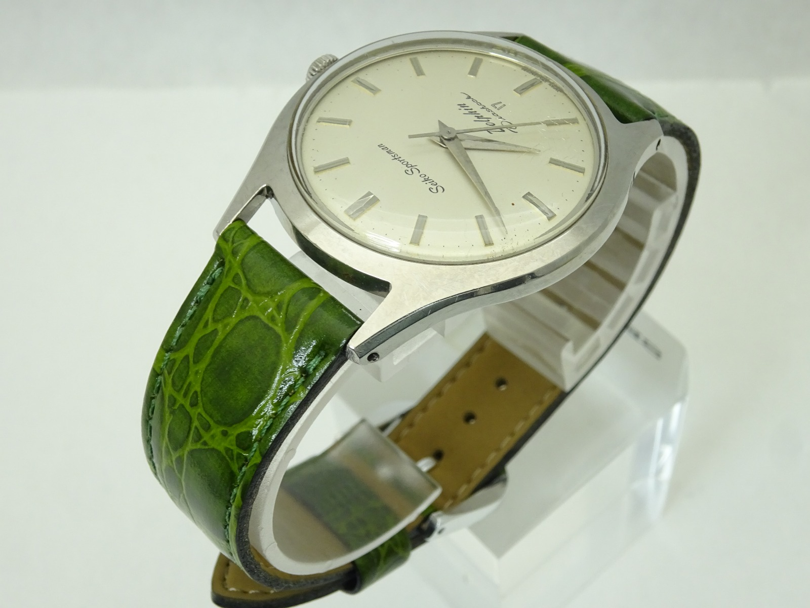 Vintage 1961 JAPAN SEIKO SPORTSMAN Dolphin J13035 17Jewels Hand-winding.