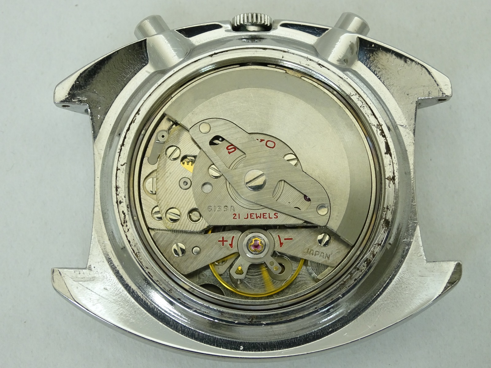Vintage 1969 JAPAN SEIKO 5 SPORTS SPEED-TIMER  6139-6000 21Jewels Automatic.