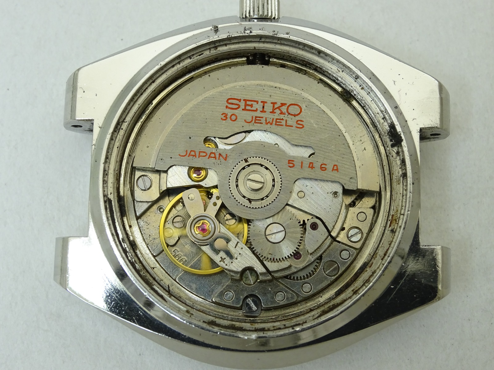 Vintage 1969 JAPAN SEIKO PRESMATIC WEEKDATER 5146-7010 30Jewels Automatic.